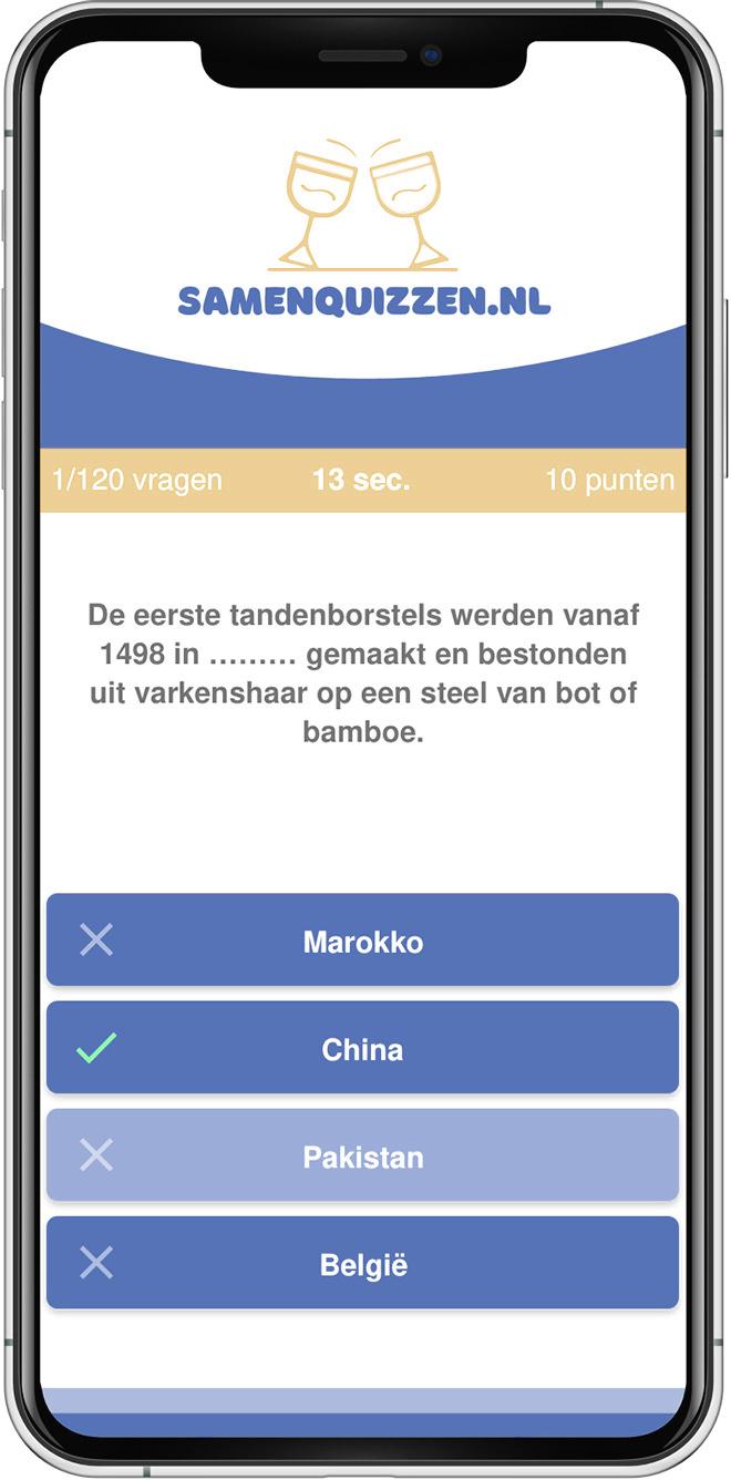 Online quiz spelen